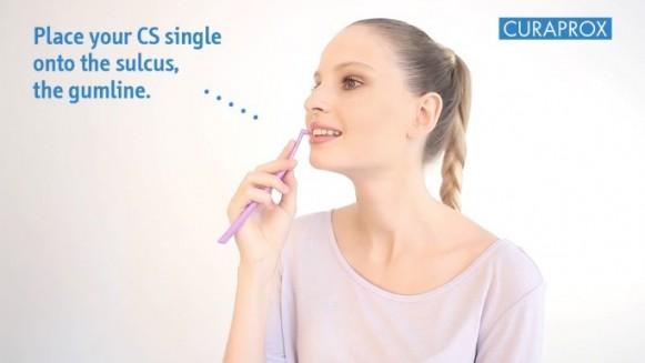 Гигиена зубов зубной щеткой CS single. Техника Соло